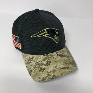New Era Camo New England Patriots Salute Hat Cap